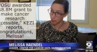 Melissa Haendel on KEZI News